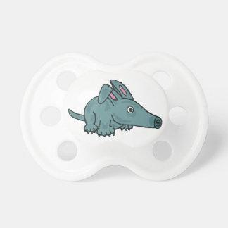 XX- Funny Aardvark Cartoon Pacifiers