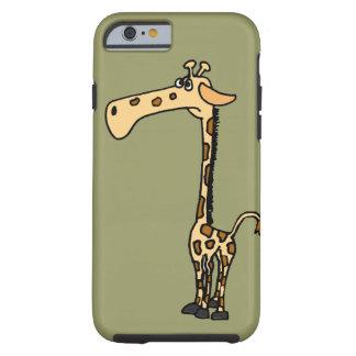 XX- Funny Giraffe Cartoon Tough iPhone 6 Case