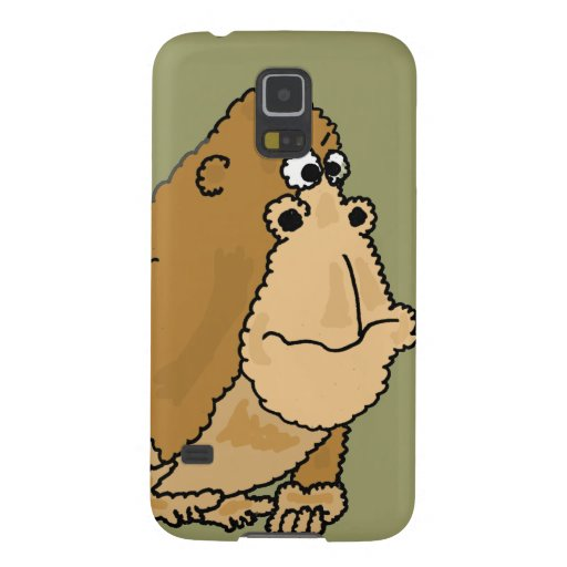 XX- Funny Gorilla Cartoon Samsung Galaxy Nexus Cases