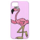 XX- Funny Pink Flamingo Cartoon