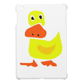 XX- Funny Primitive Art Duck iPad Mini Case
