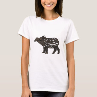 XX- Funny Tapir Cartoon T-Shirt