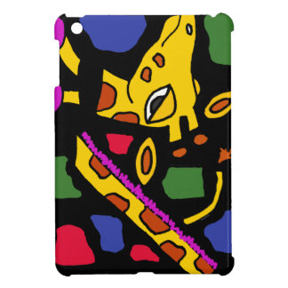 XX- Giraffe Abstract Art Case For The iPad Mini