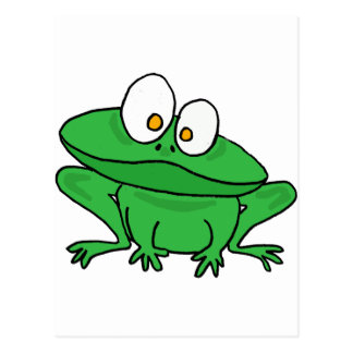XX- Goofy Frog Postcard