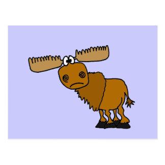 XX- Goofy Moose Design Postcard
