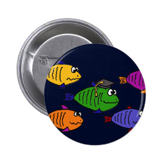 XX- Happy Graduation School of Fish Pin