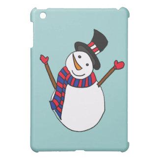 XX- Happy Snowman Case For The iPad Mini