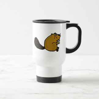 XX- Hilarious Beaver Cartoon Coffee Mugs
