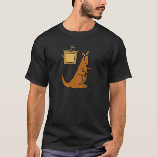XX- Kangaroo Court Cartoon T-Shirt