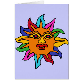 XX- Mexican Sun Art Card