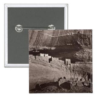 XX Ruins, Canon de Chelle, New Mexico 15 Cm Square Badge