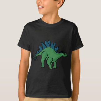 XX- Stegosaurus Dinosaur Cartoon T-Shirt