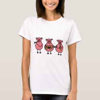 XX- Three Little Musical Pigs T-Shirt