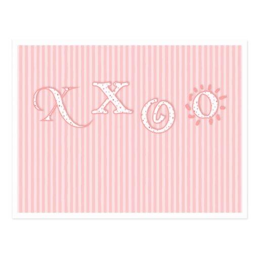 xxoo post card
