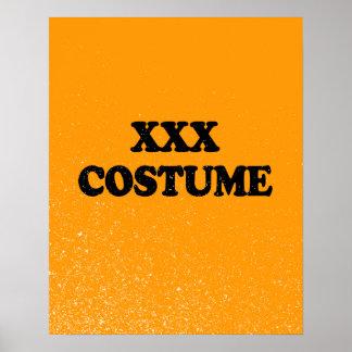 XXX COSTUME - - Halloween Posters