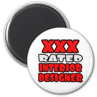 XXX Rated Interior Designer Fridge Magnets