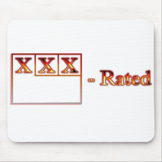 XXX - Rated Mousepad