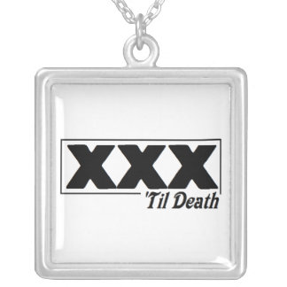 XXX 'til Death necklace