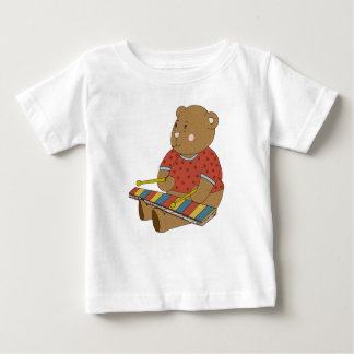 Xylophone Bear Baby T-Shirt
