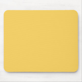 Y07 Calm Mustard Yellow Color Mouse Pad