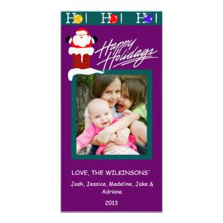 Y2 Ho Green Plumb Christmas Photo Cards