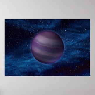 Y Dwarf Star Space Art Print