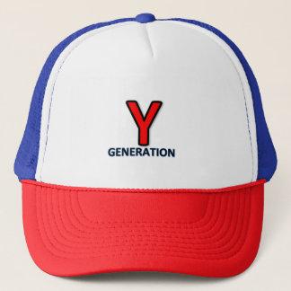 Y Generation cap logo