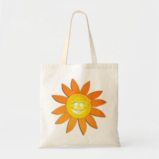 Y' has sun in my purchases - canvas bag