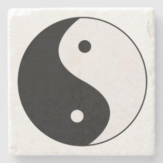 Y!in Yang Stone Coasters