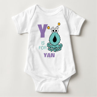 Y is for Yip-Yips | Add Your Name Baby Bodysuit