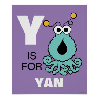 Y is for Yip-Yips Poster