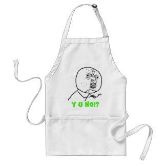 y-u-no-guy large text standard apron