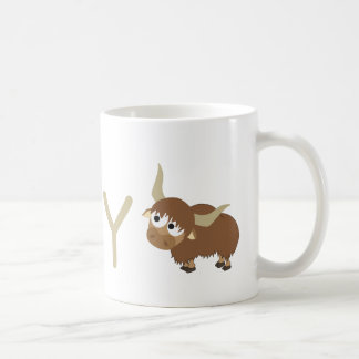 Y - Yak Coffee Mug