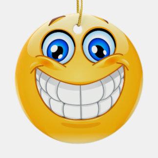 Ya Gotta Smile - SRF Round Ceramic Decoration