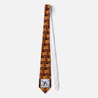 YA Lion Fight Tie