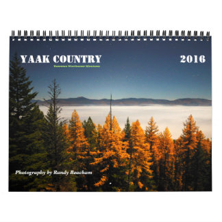 Yaak Country Calendar 2016 Medium