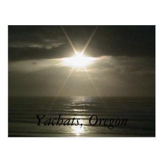Yachats, Oregon Postcard