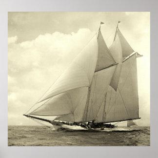 Yacht 'America' 1910 Poster