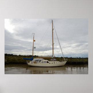 Yacht Aska Poster