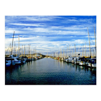 Yacht Club, Auckland Harbor, North Island Postcard