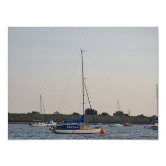 Yacht Parana Print