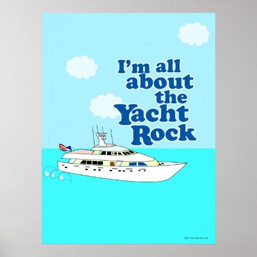 Yacht Rocking Poster