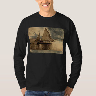 Yachting on Lake Erie, Buffalo NY 1909 vintage T-Shirt