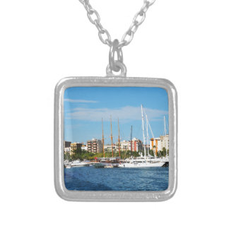 Yachting Silver Plated Necklace
