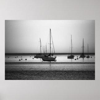 Yachts fine art print