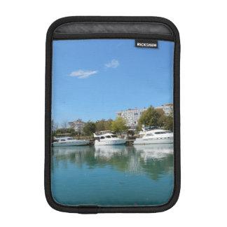 Yachts in Turkey iPad Mini Sleeve