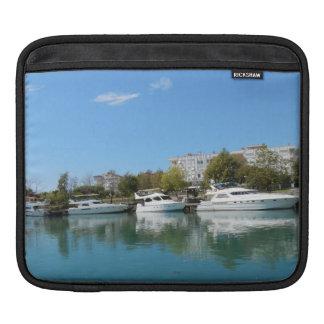 Yachts in Turkey iPad Sleeve