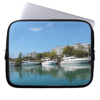 Yachts in Turkey Laptop Sleeve