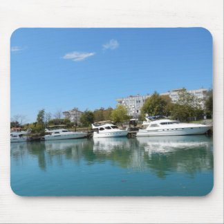 Yachts in Turkey Mouse Pad