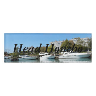 Yachts in Turkey Name Tag